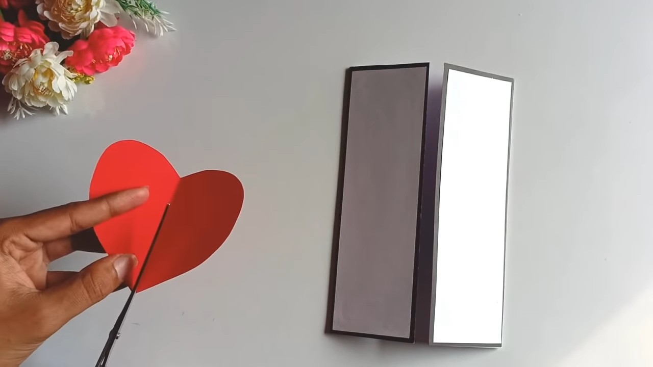 Яркая и необычная валентинка
