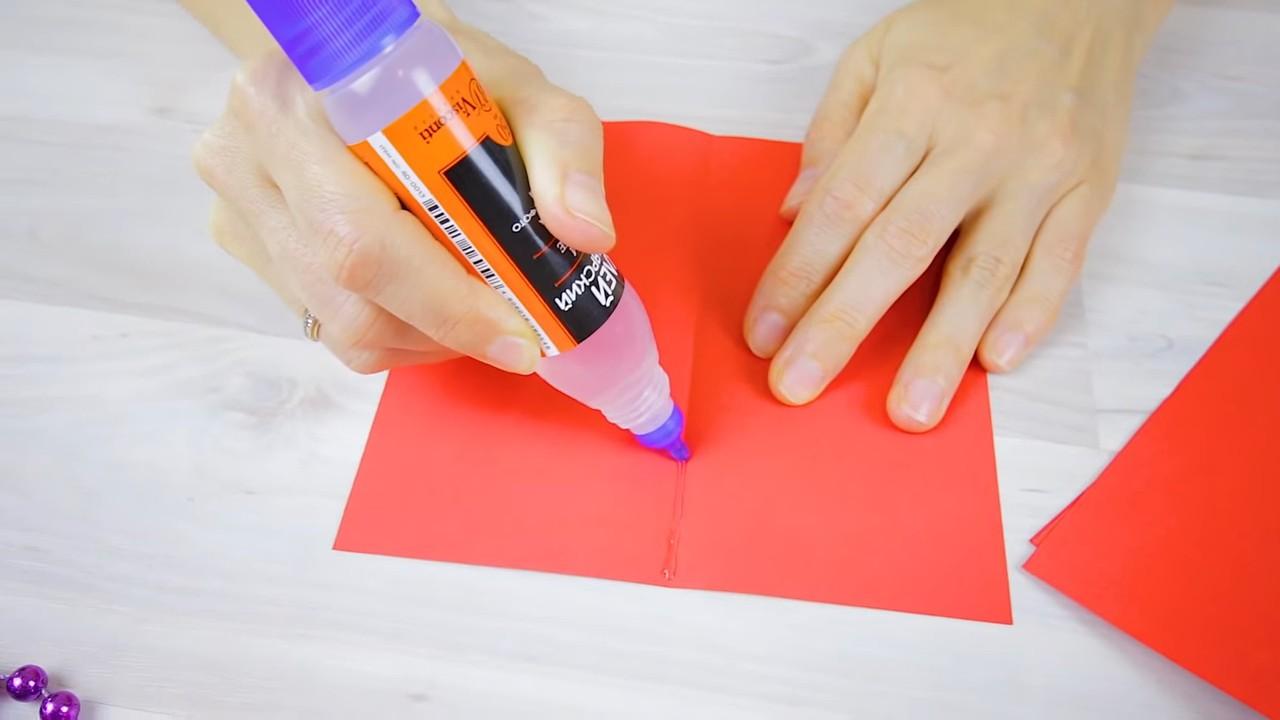 3Д открытка своими руками
