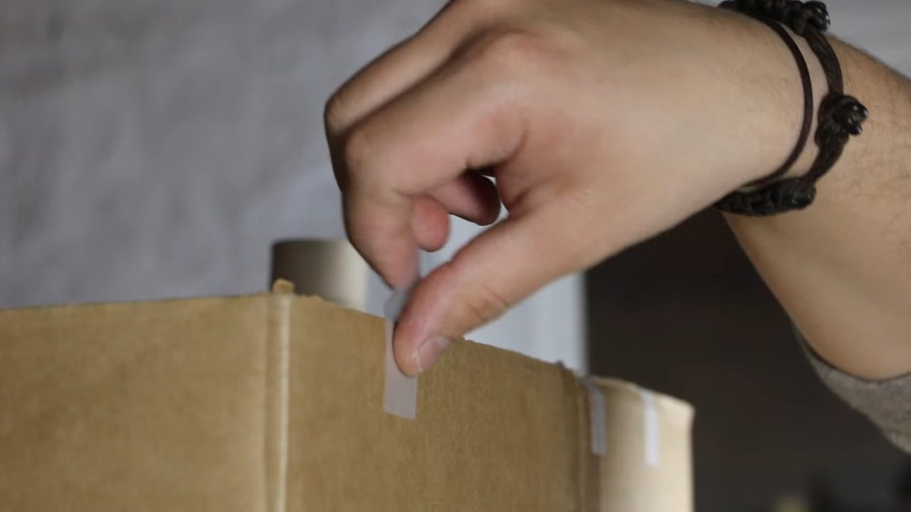 Коптильня холодного копчения из коробки