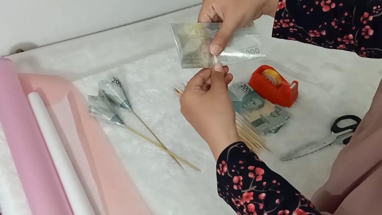 Букет из денег. Эффектный и необычный подарок