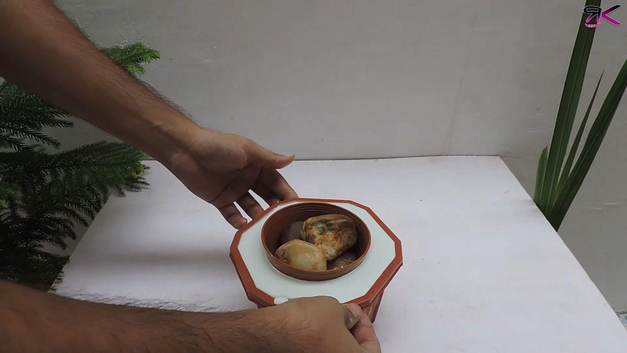 Недорогие и стильные цветочные горшки своими руками