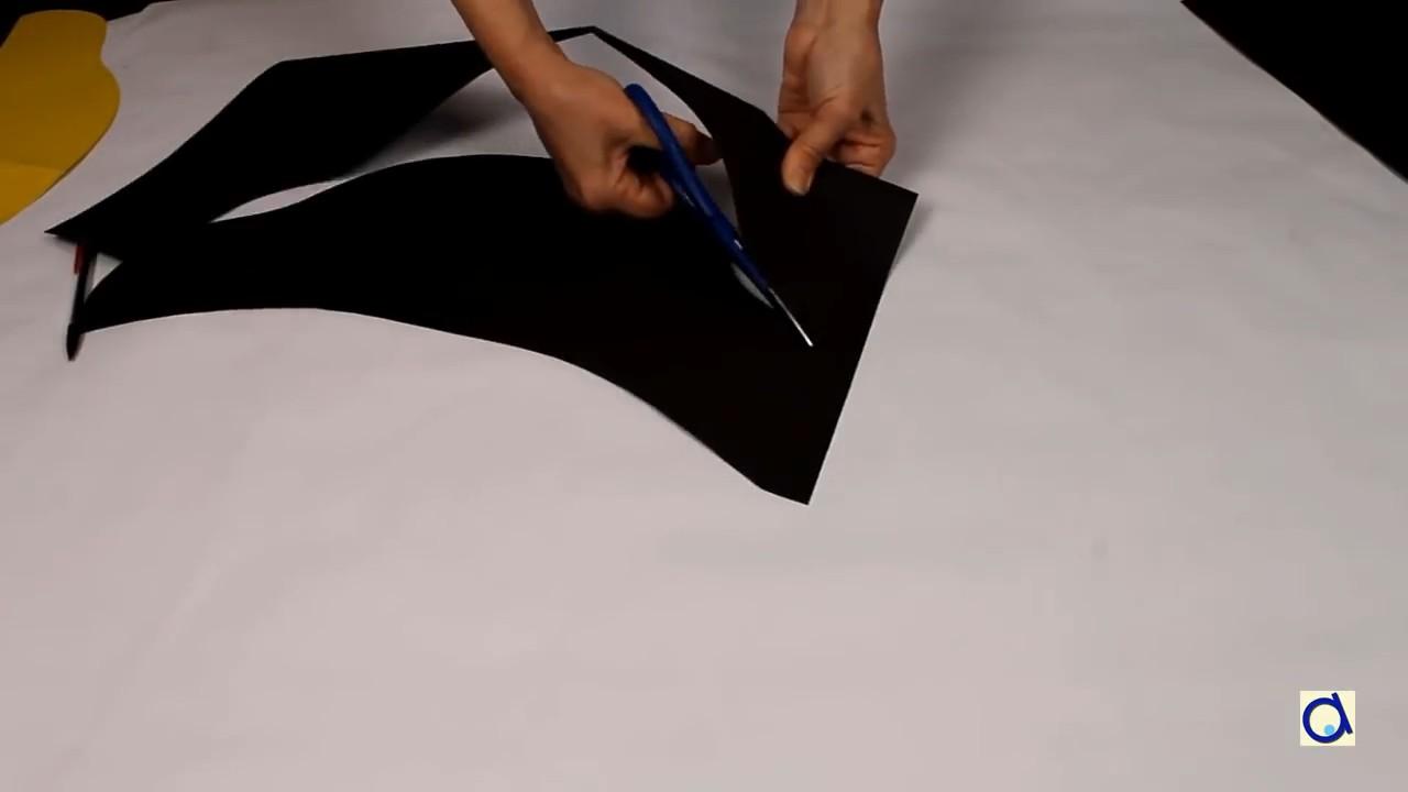 Как сделать пиратскую шляпу из бумаги