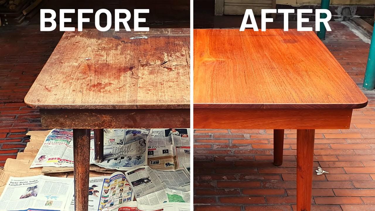 Мастер класс по реставрации старой мебели