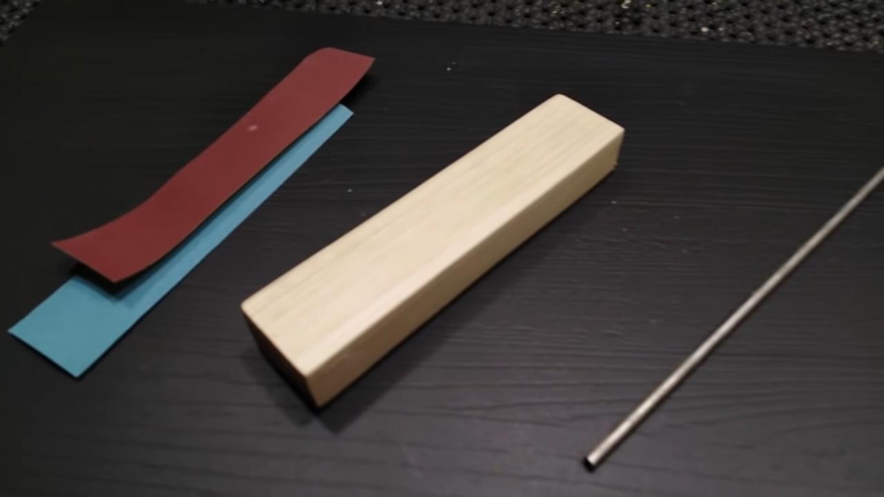 Станок для заточки ножей из подручного материала