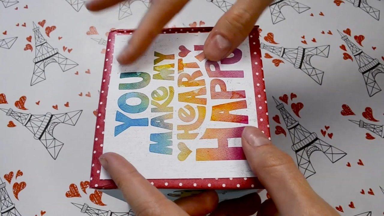 Коробка с сюрпризом. Подарок который точно удивит!