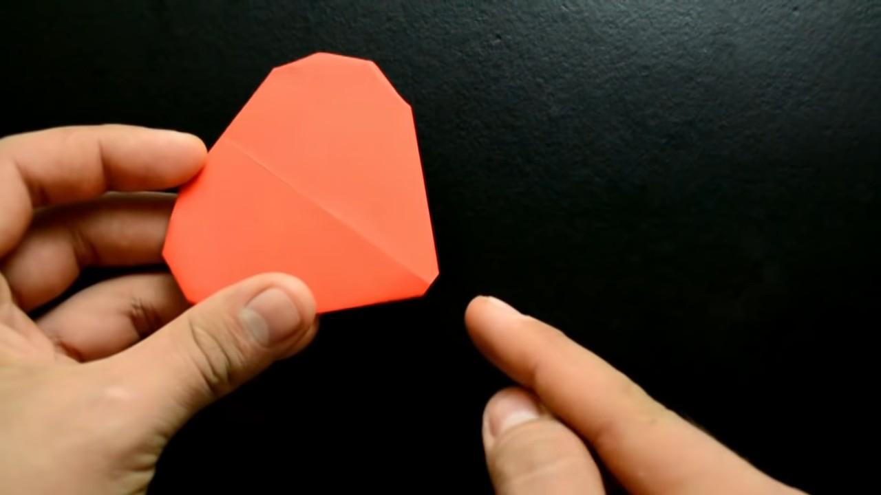 Как сделать объемное сердце из бумаги