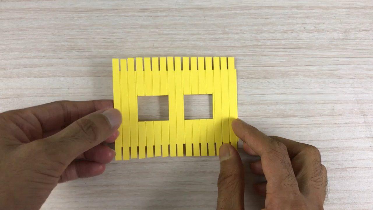 Яркий бумажный домик: интересная поделка для ребенка