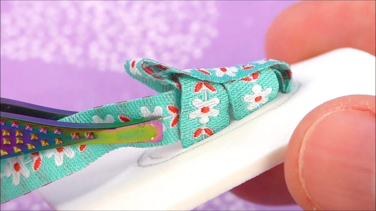 Нарядная и простая обувь для кукол своими руками