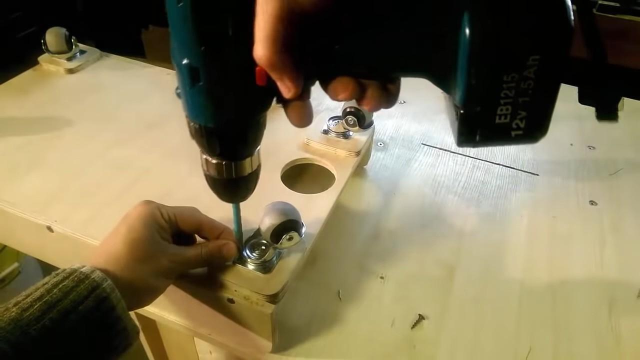 Циклонный фильтр для пылесоса из канализационных труб