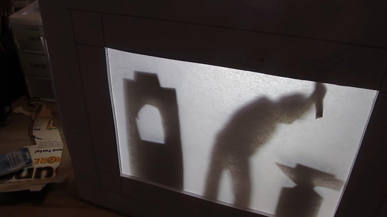 Делаем театр теней для детей