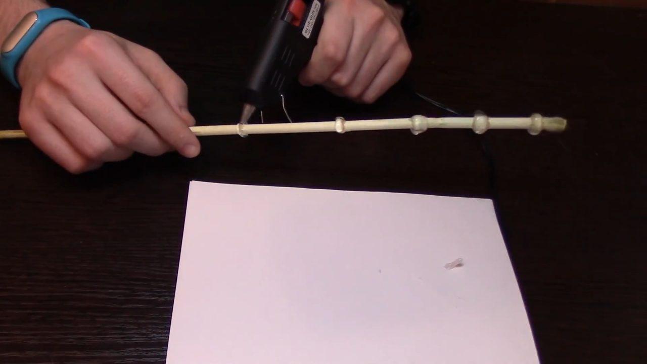 Делаем настоящие волшебные палочки из Гарри Поттера
