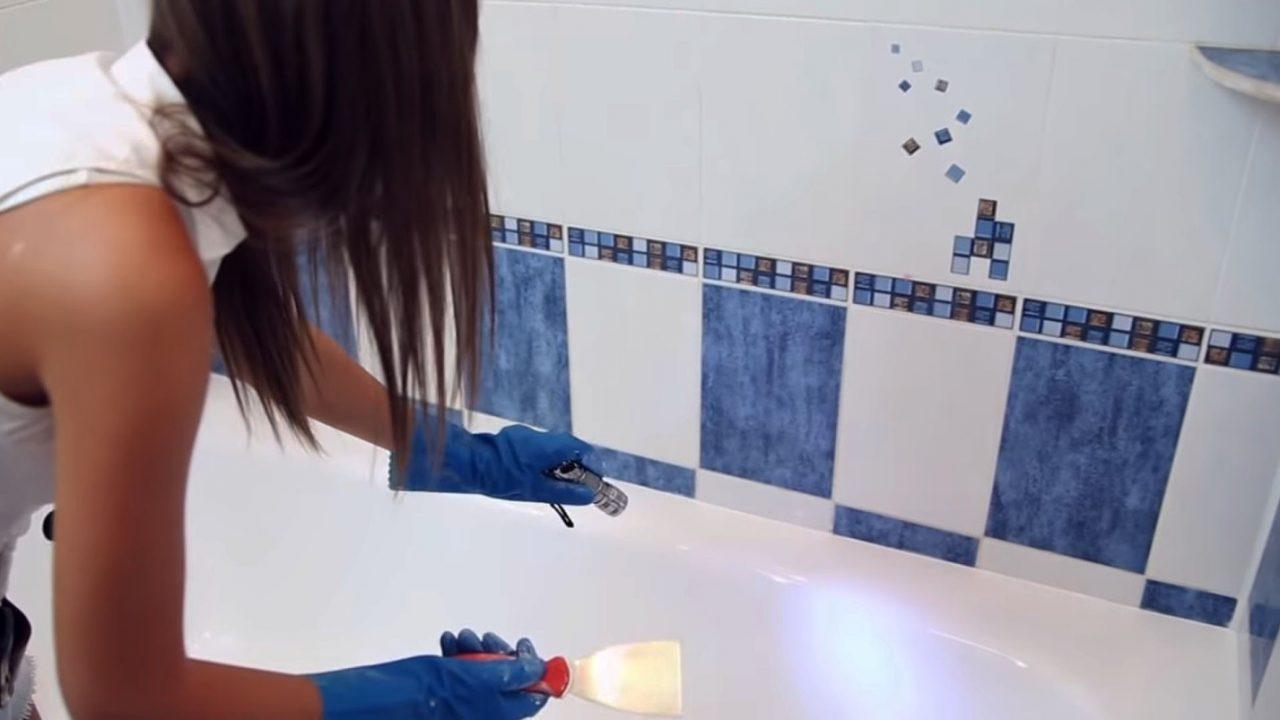 Самостоятельная реставрация старой ванны жидким акрилом