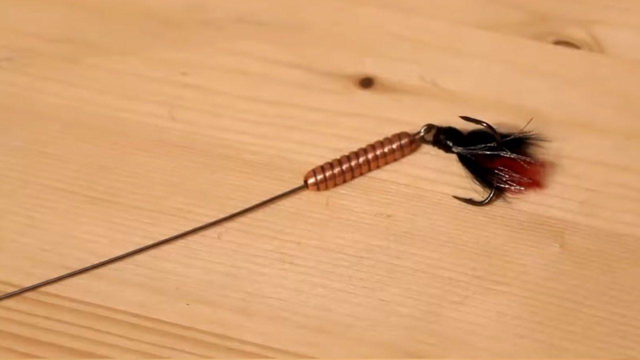 Самодельная блесна для ловли щуки или окуня