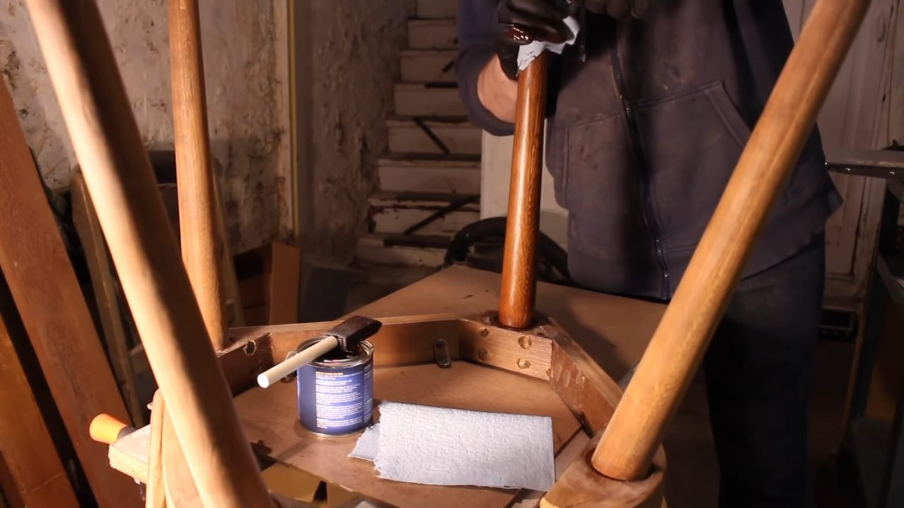 Мастер класс по реставрации старого стула