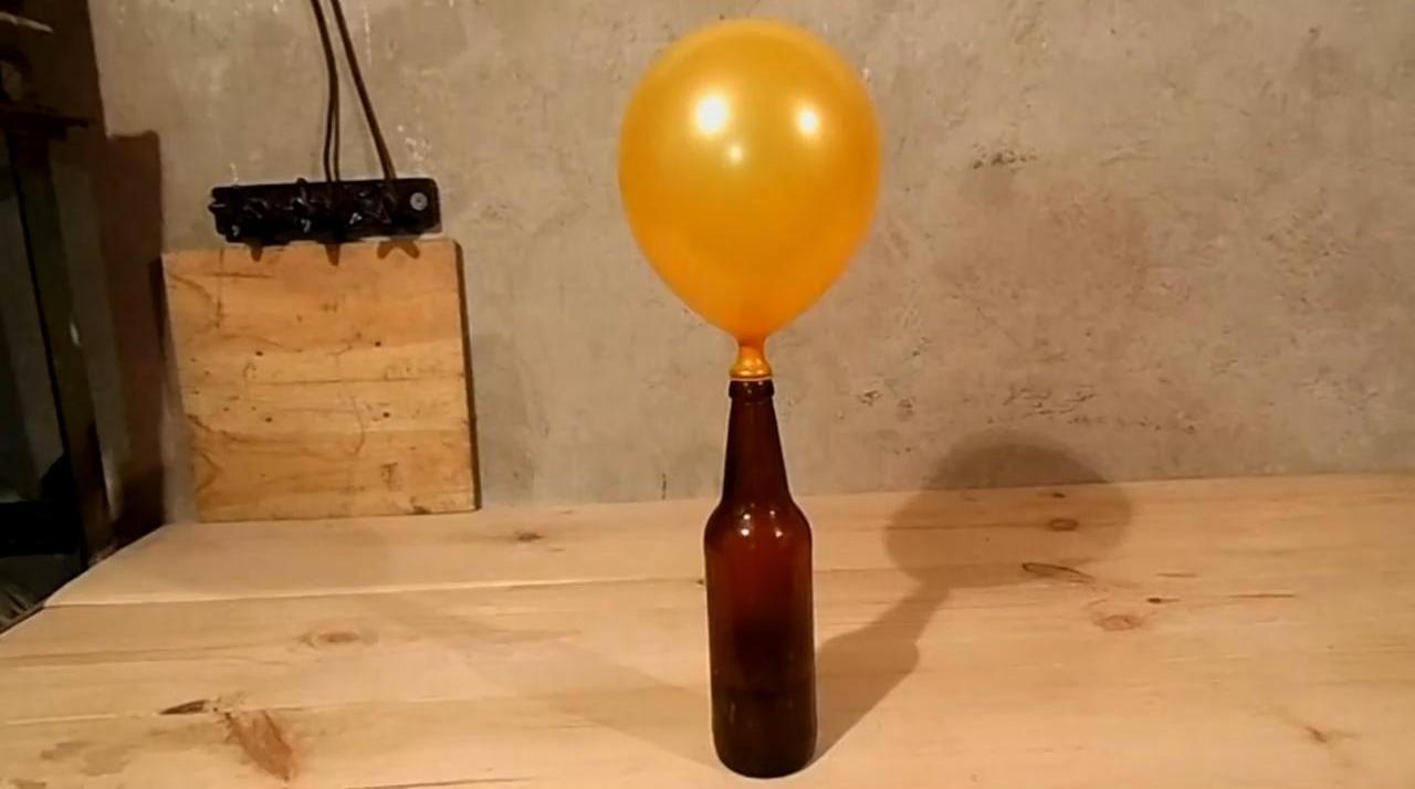 Как надуть шарик, чтобы он летал. Без гелия!