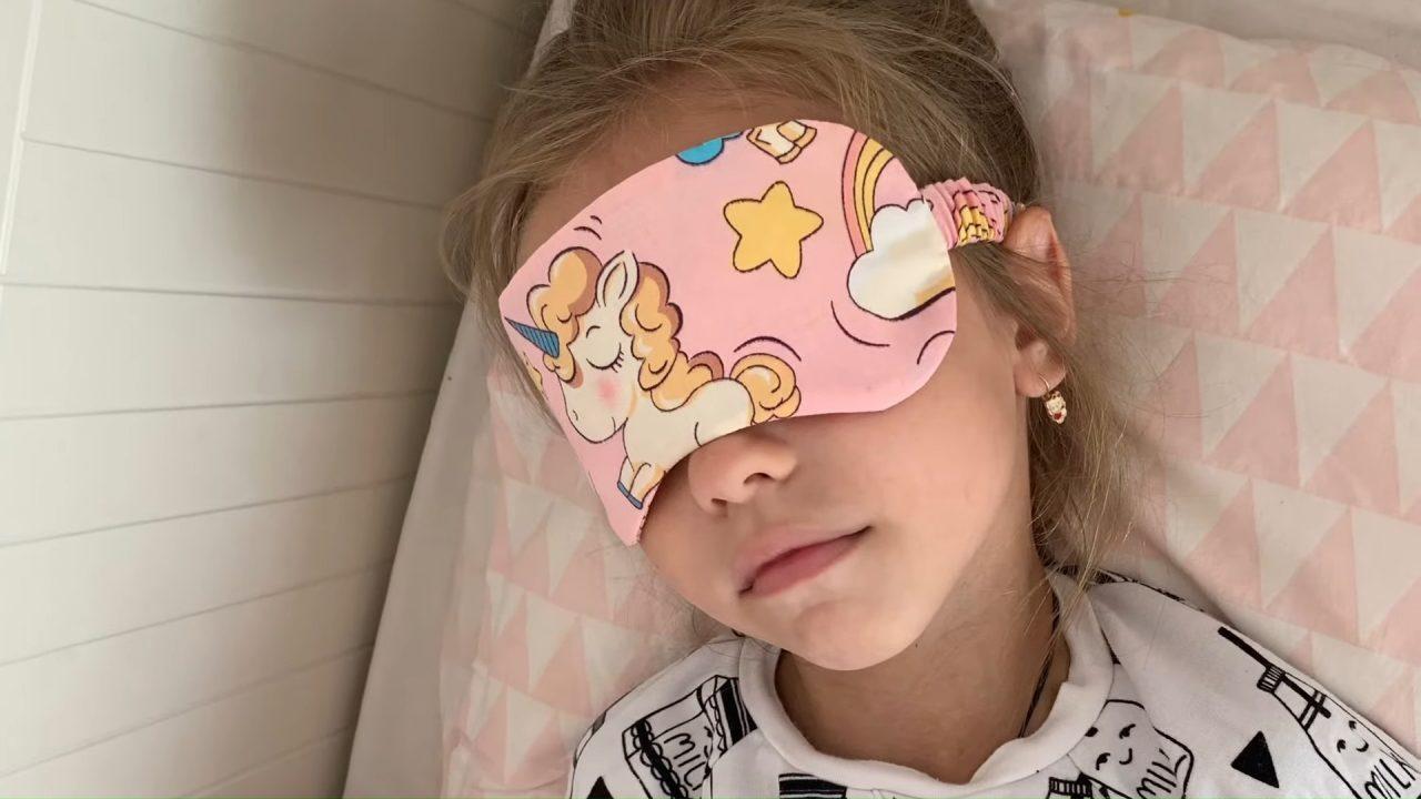 Милейшая маска для сна своими руками (+выкройка)