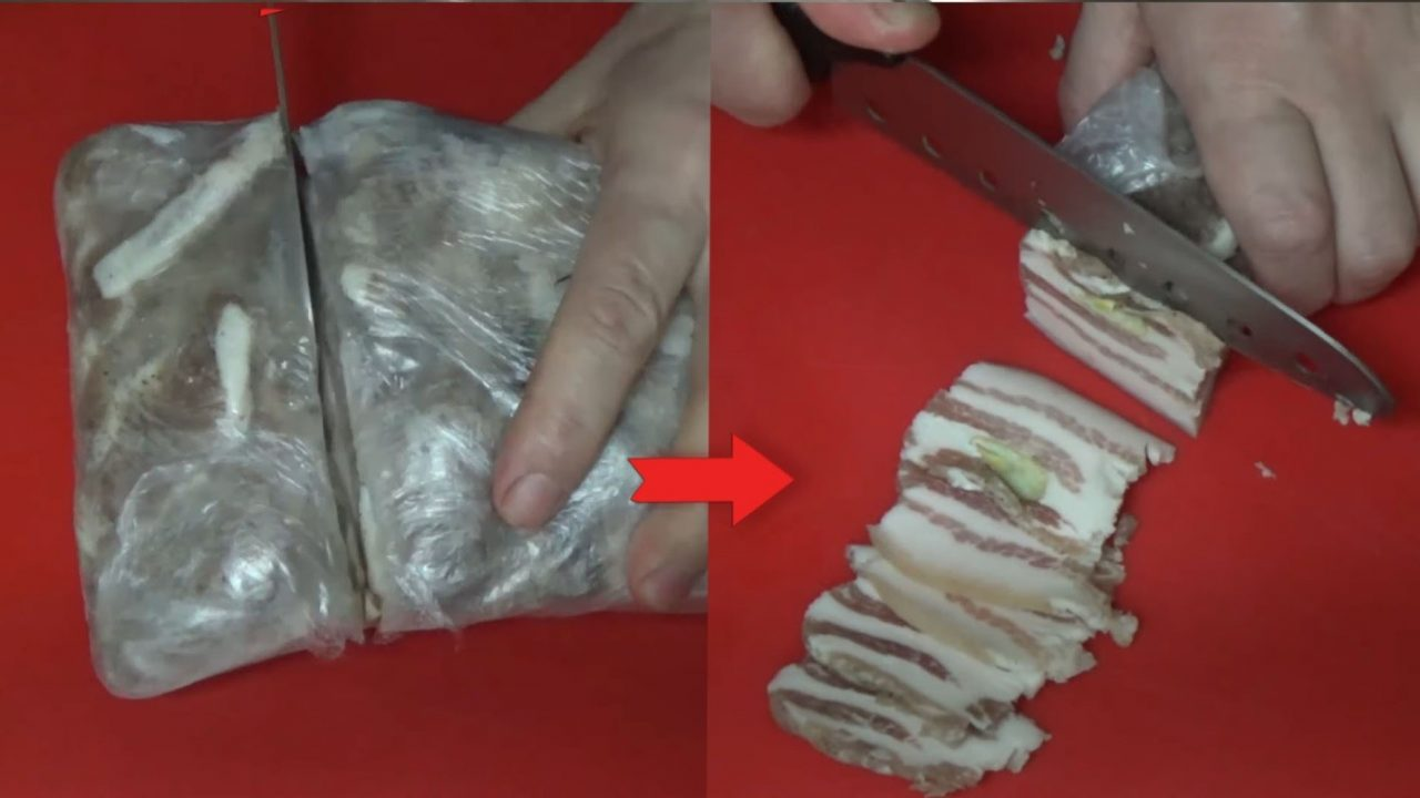 Домашний рецепт засолки сала с чесноком и перцем