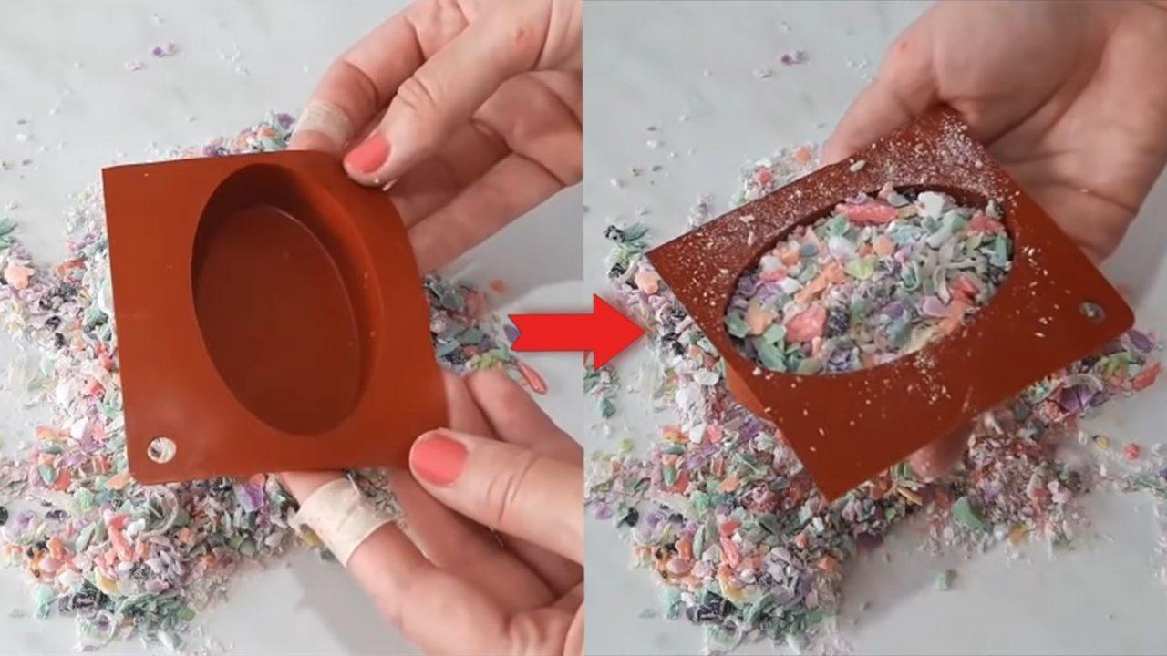 Как сварить красивое мыло из обмылков