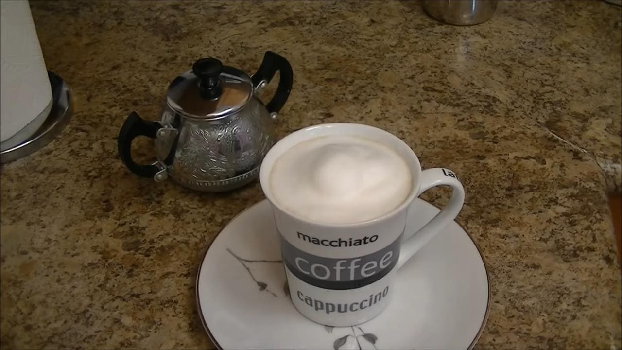 Готовим капучино дома без кофемашины