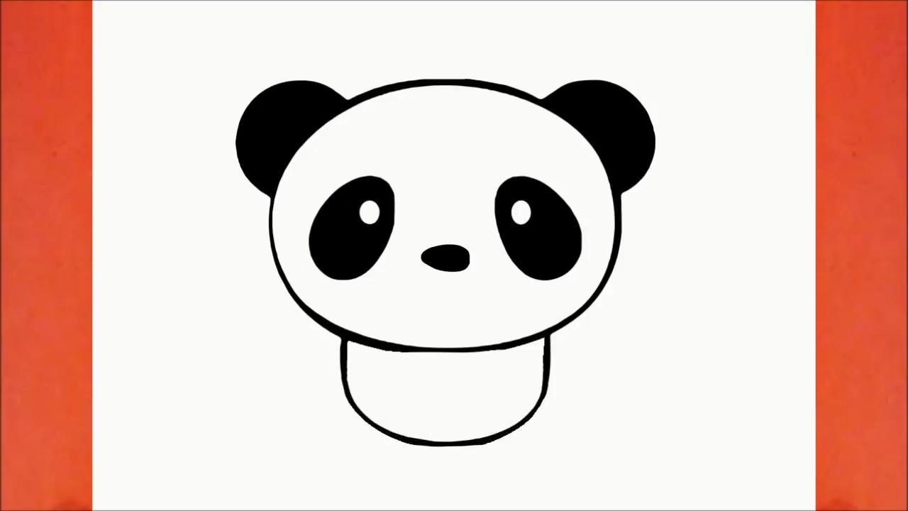 Рисуем панду: инструкция для начинающих