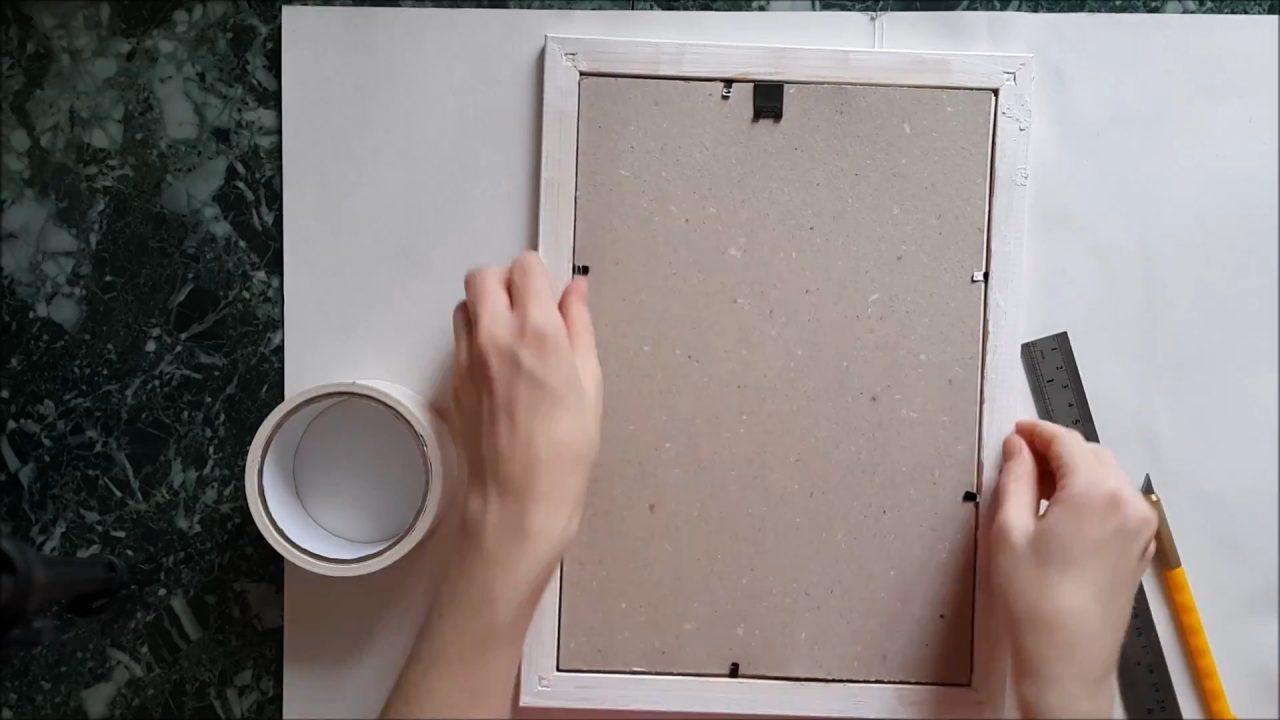 Делаем паспарту для рисунка