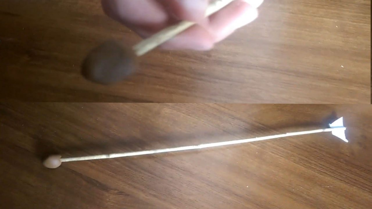 Простейший самодельный арбалет из дерева