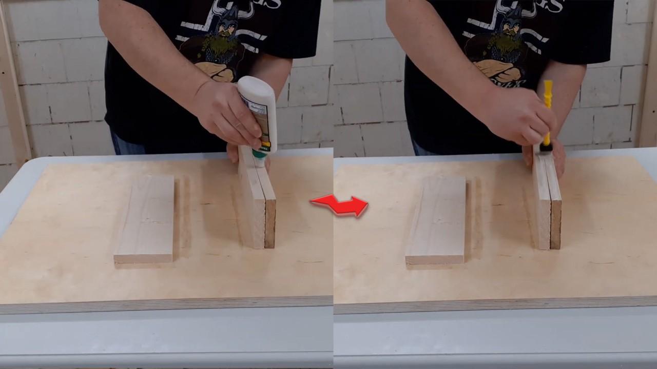 Делаем деревянную табуретку без станков