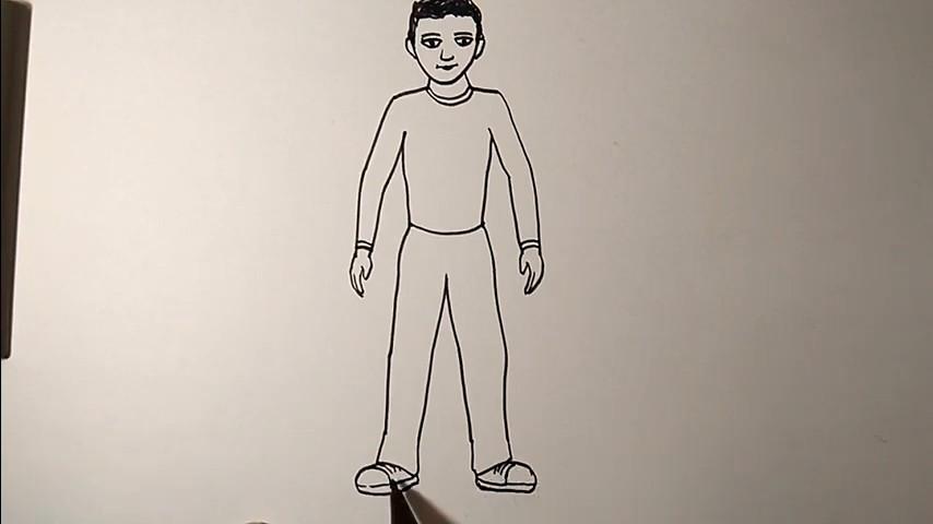 Как рисовать человека: инструкция для начинающих