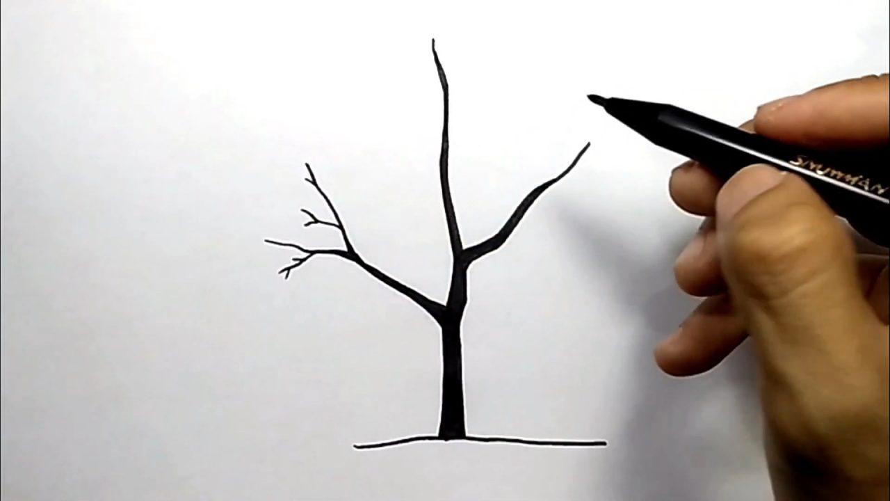 Учимся рисовать дерево легко и красиво