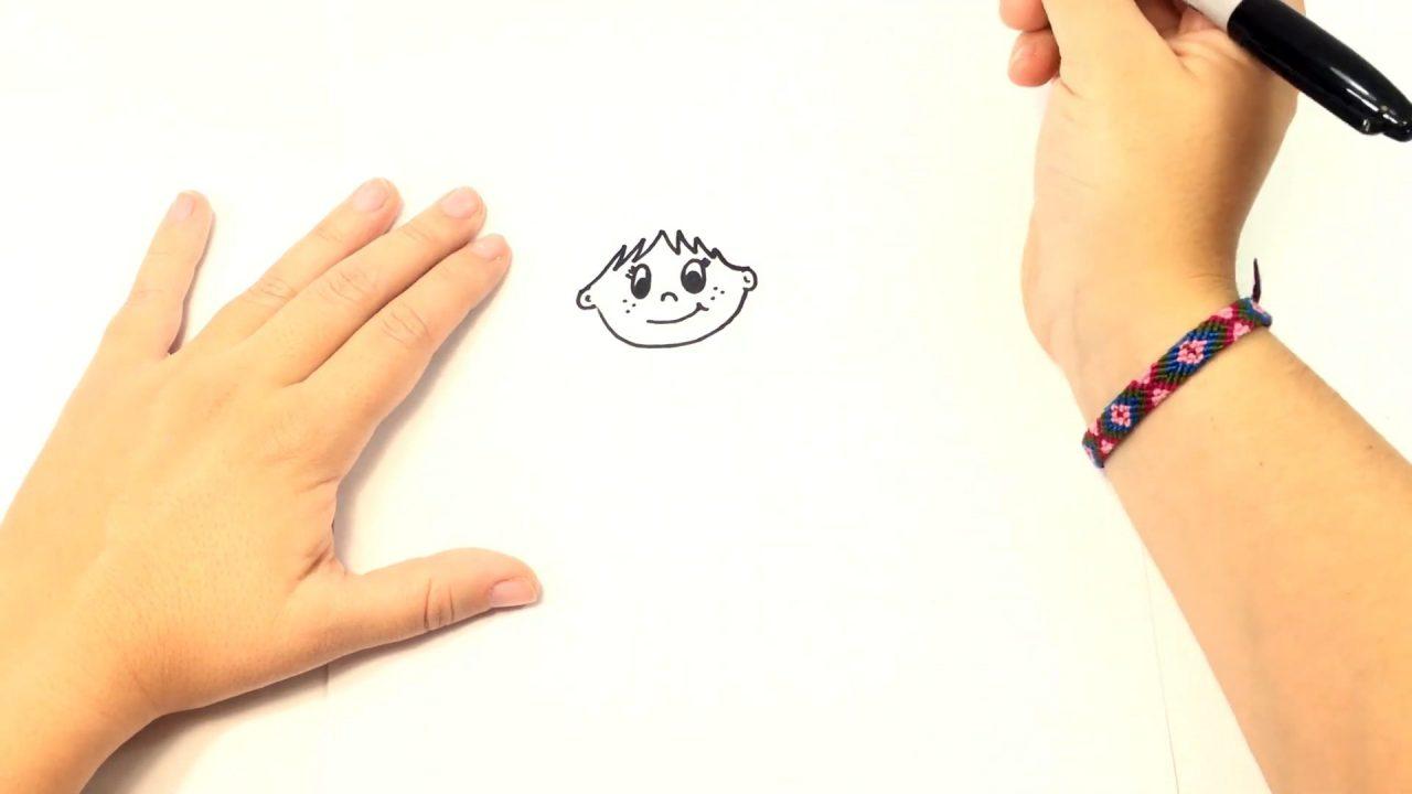 Как нарисовать красивую девочку