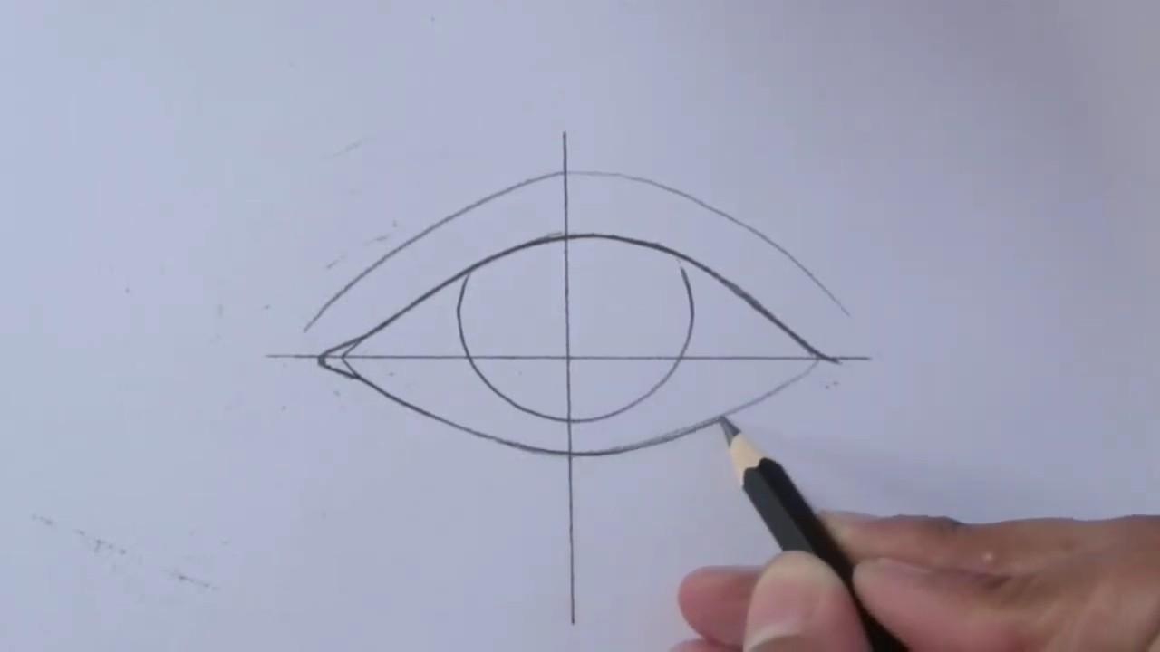 Учимся рисовать глаза
