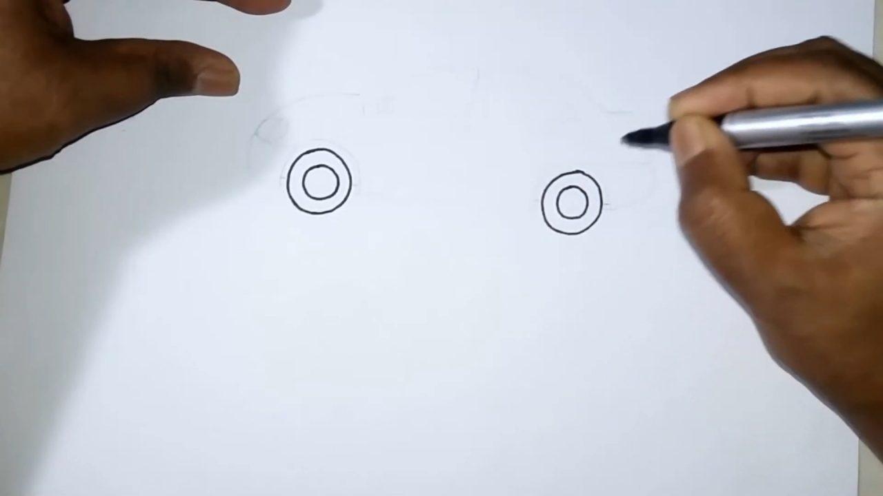 Как рисовать машину. Пошаговый мастер-класс для детей