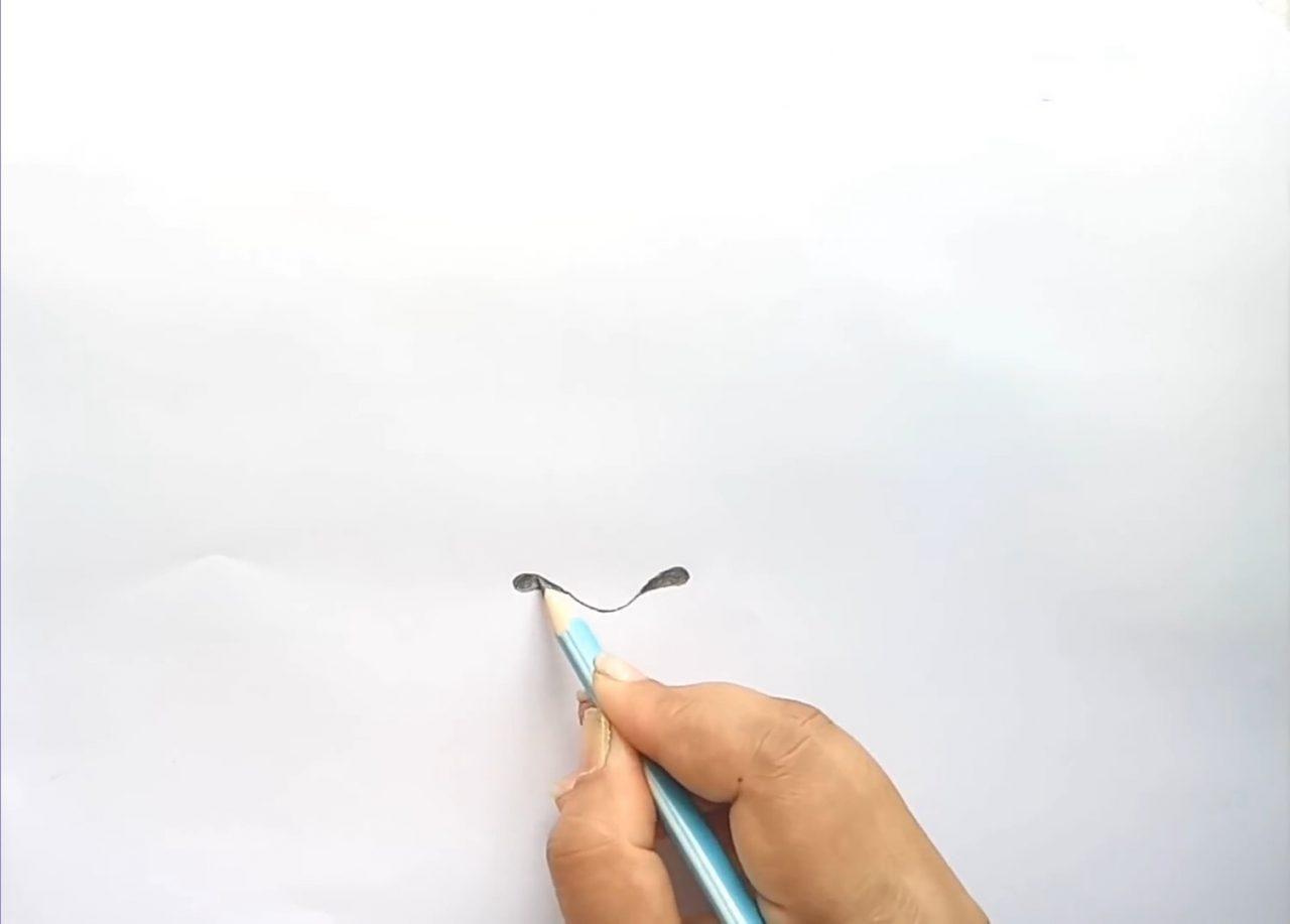 Рисуем нос карандашом по шагам: мастер-класс для начинающих