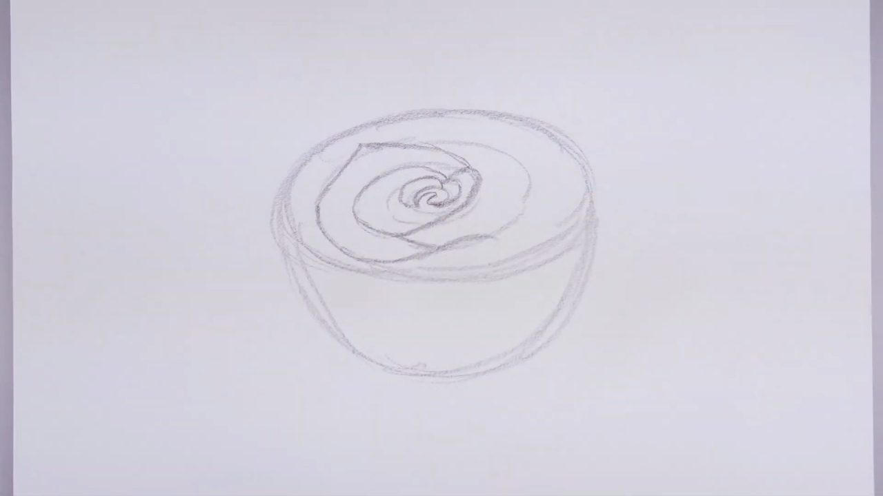 Как нарисовать реалистичную розу поэтапно