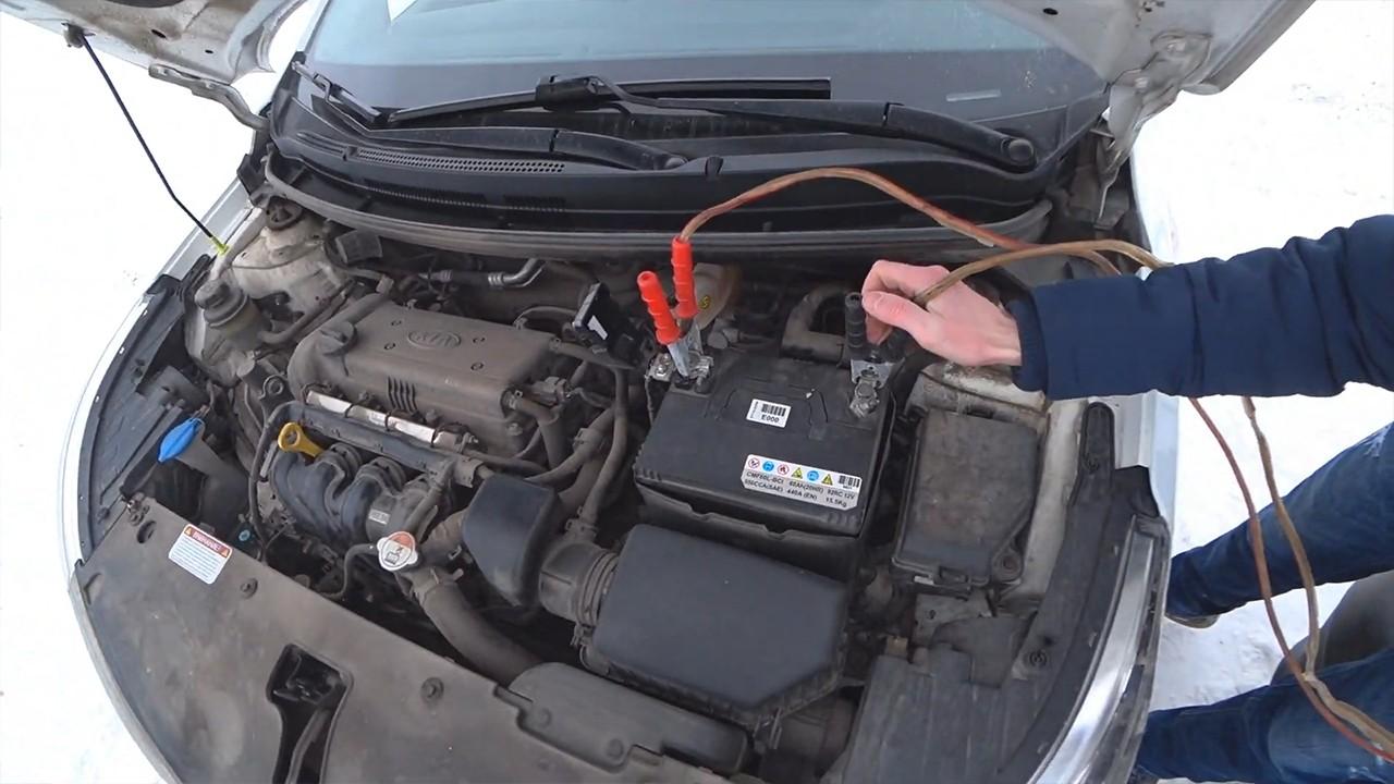 Как безопасно прикурить один автомобиль от другого