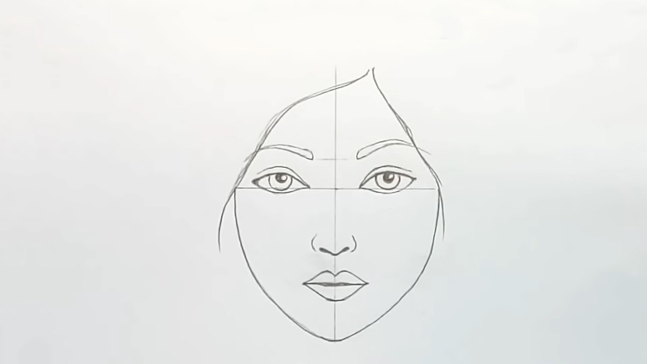 Как рисовать лицо девушки: пошаговый мастер-класс