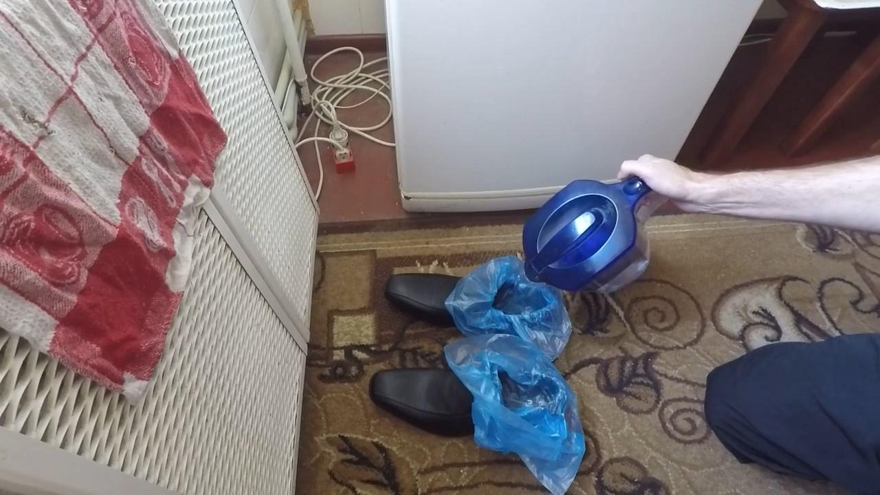 Как растянуть кожаную обувь на 1 размер с помощью холодильника