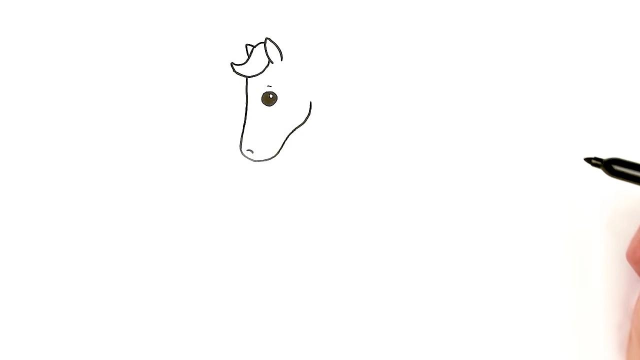 Как нарисовать лошадку за несколько шагов