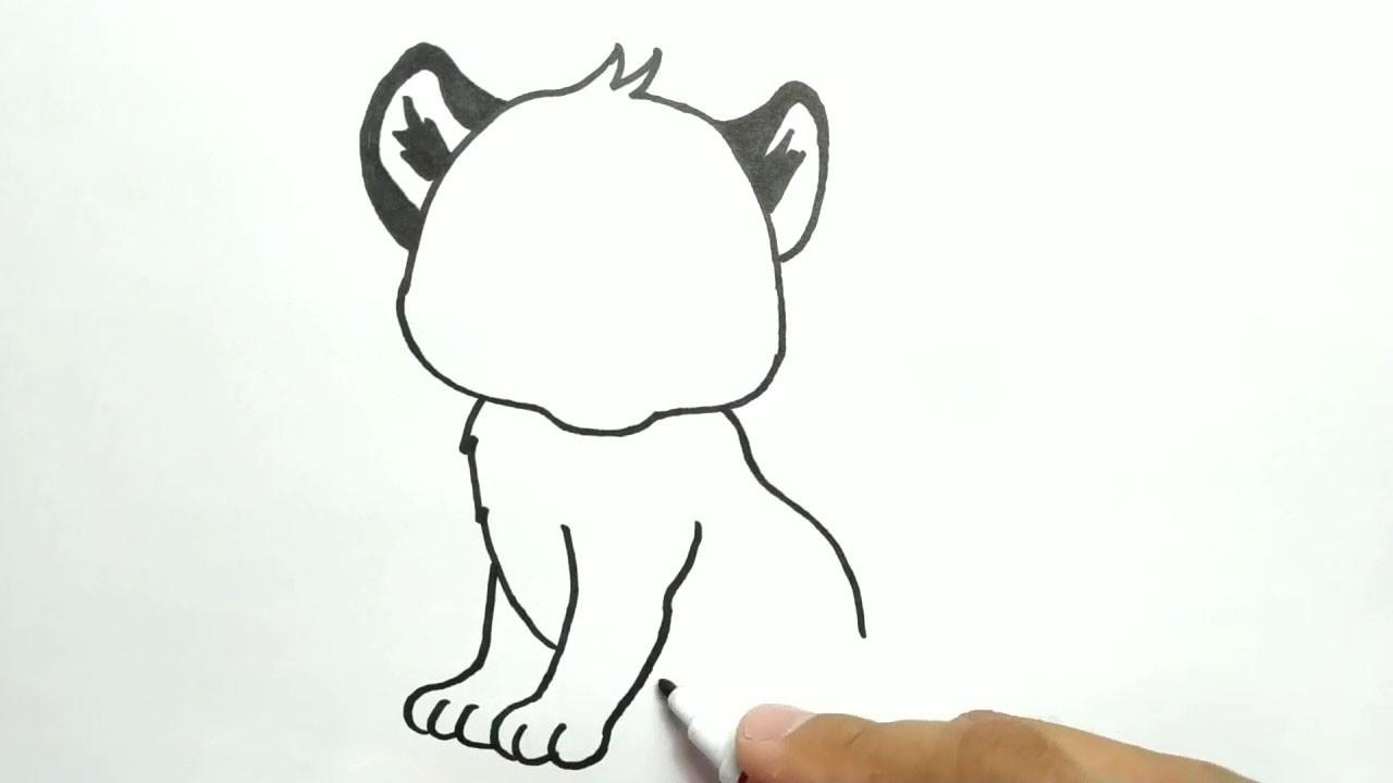 Рисуем тигренка с ребенком. Поэтапный мастер-класс