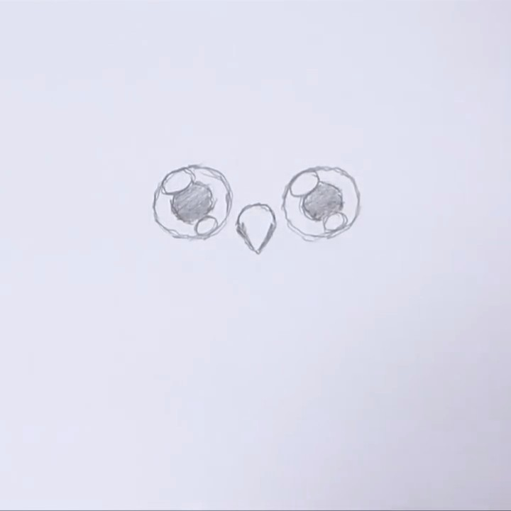 Рисуем и разукрашиваем сову поэтапно