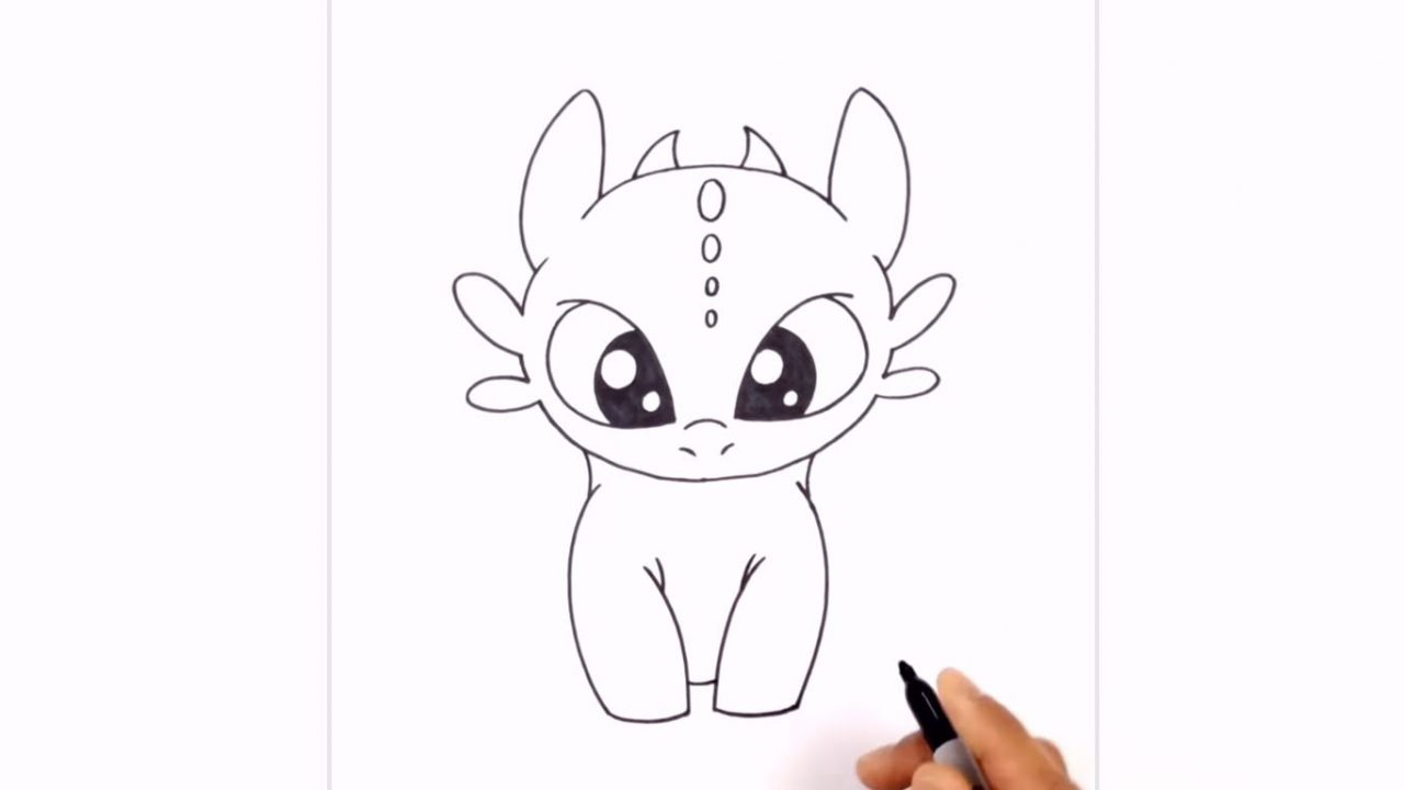 Как нарисовать Беззубика