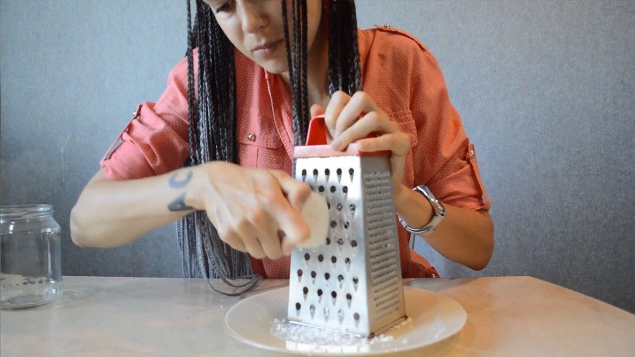 Как сделать жидкое мыло из твердого в домашних условиях