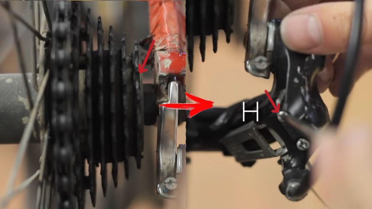 Как натянуть цепь на скоростном или горном велосипеде