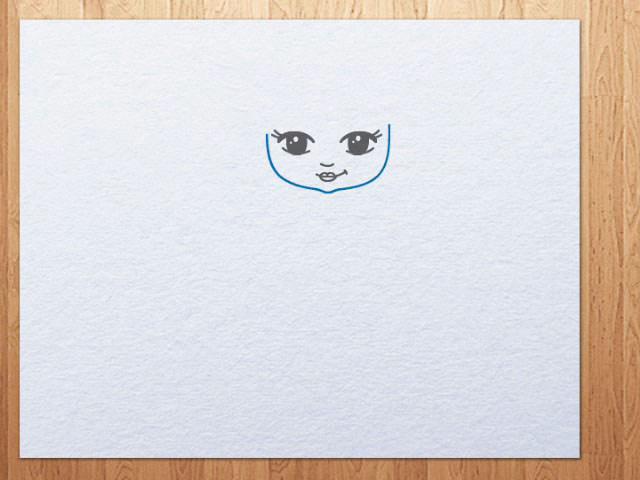 Как нарисовать русалочку карандашом