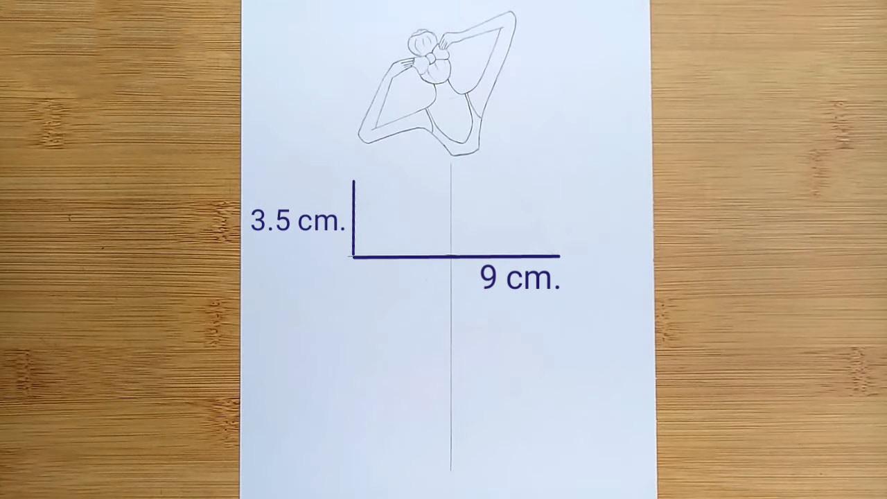 Как нарисовать балерину. Поэтапный мастер-класс для начинающих