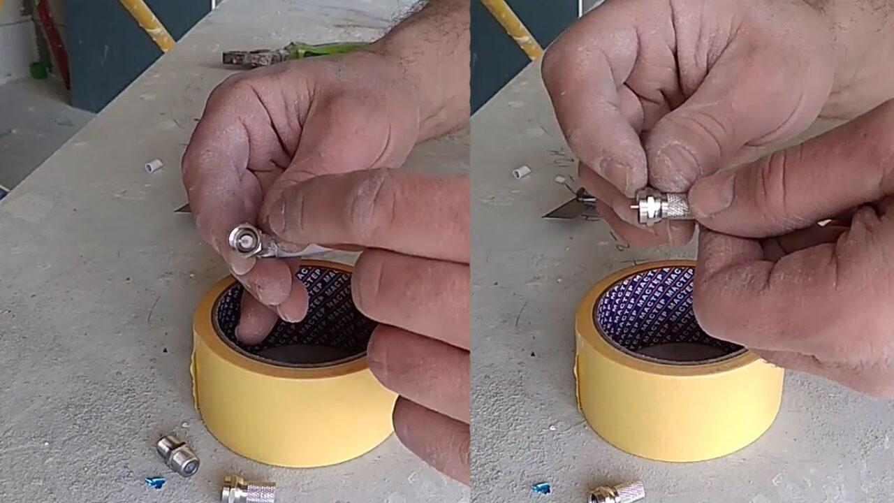 Как правильно соединить/удлинить антенный кабель