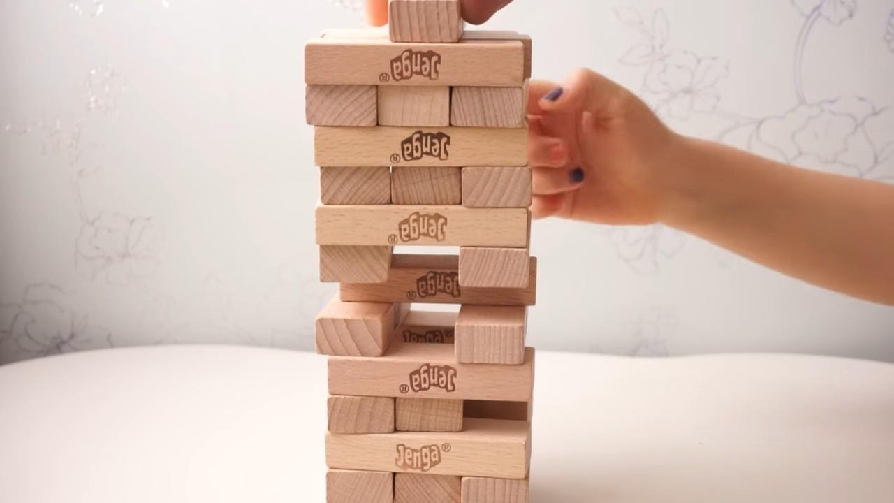 4 способа играть в башню «Дженга»