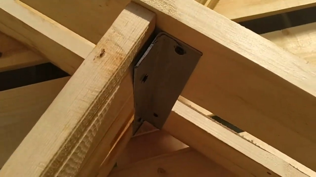 Как построить дровяник на даче. Поэтапный мастер-класс