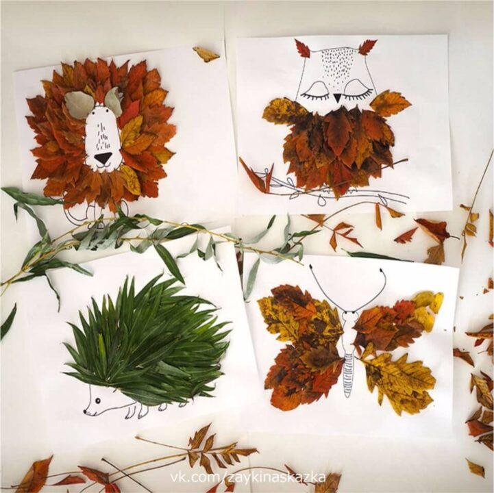 Осенние поделки из природных материалов своими руками