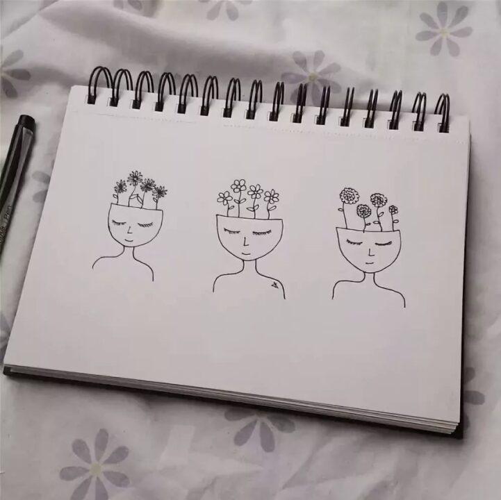 Что нарисовать в скетчбуке. 400 идей для срисовки